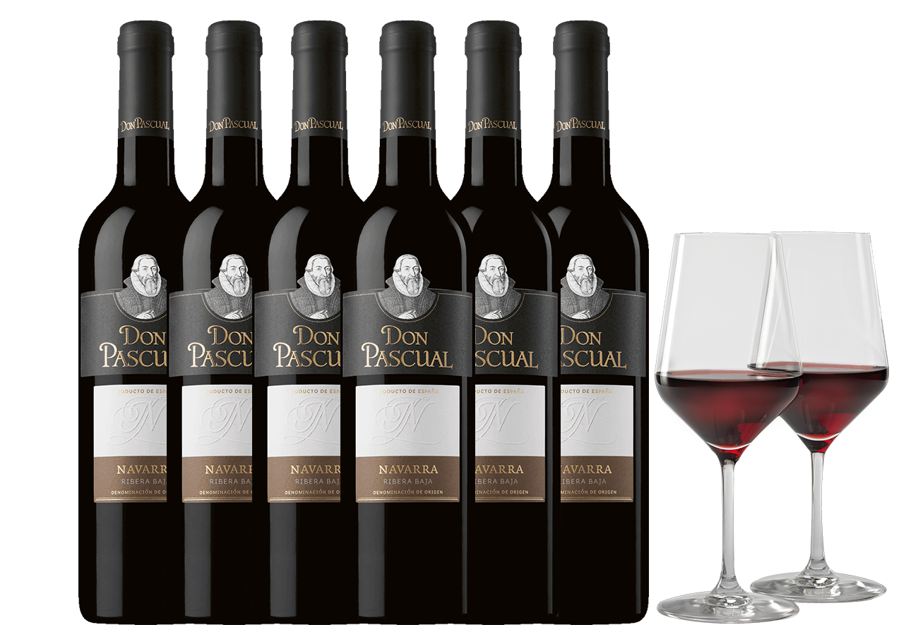 6 x 75 DON PASCUAL 2015 NAVARRA Degustation